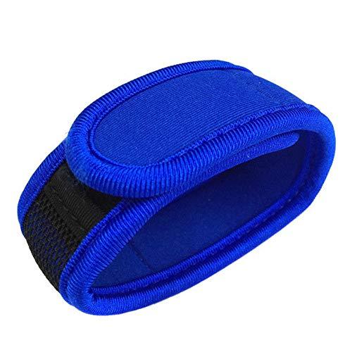 Imagen de leezo  pulsera repelente de mosquitos, para niños, adultos, neopreno, para viajes al aire libre, azul