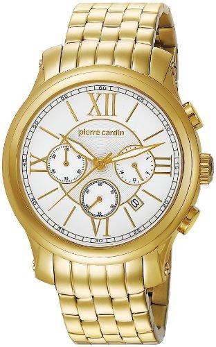 Pierre Cardin Empereur Animation Stainless Steel Quartz Chronograph Men's Wristwatch XL D' PC105151F01