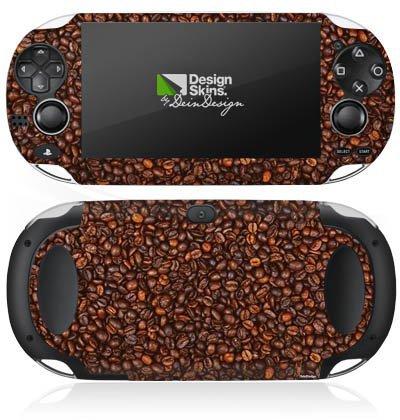 Preisvergleich Produktbild Sony PS Vita Case Skin Sticker aus Vinyl-Folie Aufkleber Kaffee Bohnen Coffee