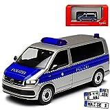Volkwagen T6 Multivan Personen Transporter Polizei NRW T5 Ab 2. Facelift 2015 H0 1/87 Herpa Modell Auto mit individiuellem Wunschkennzeichen