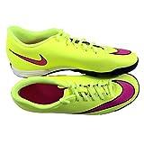 Nike Mercurial Vortex II TF hommes, cuir lisse, lacet, 39 EU