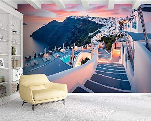 küche wallpaper 3d europa griechenland santorini landschaft schlafzimmer wallpaper 3d hintergrundbild für wohnzimmer