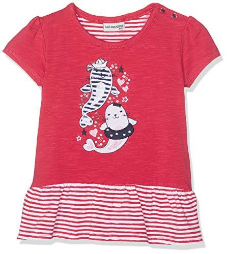 SALT AND PEPPER Baby-M/ädchen B Meer Uni Volant T-Shirt