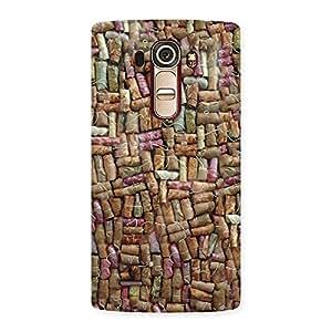 Delighted Bullet Bomb Back Case Cover for LG G4