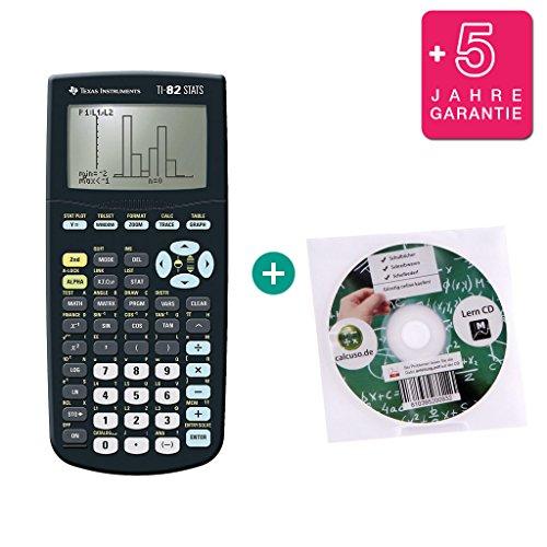 TI-82 STATS + Garanzia 5 anni + CD di apprendimento (in tedesco)
