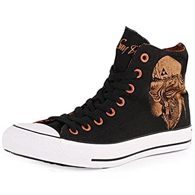 Converse Chuck Taylor All Star Shoes - Black/ Sudan