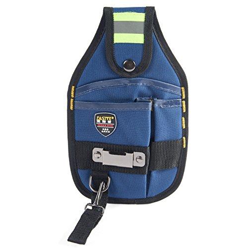 Babimax Werkzeugtasche 15x25cm 600 Denier Nylon aus Oxford mit Bandmaß Schnalle und verdicktem...