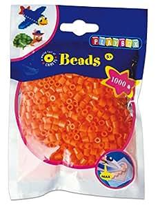 Playbox - Iron on Beads - 1000 pcs - orange