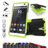 Sony Xperia C5 Ultra Case,Mama Mouth Shockproof Heavy Duty Combo Hybrid Rugged Dual Layer Grip Cover with Kickstand For Sony Xperia C5 Ultra E5506 E55