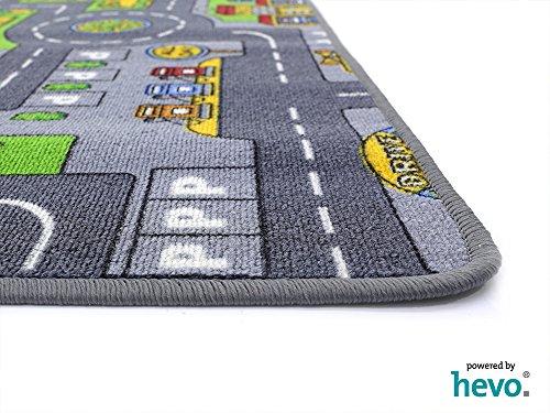 Stadt Mix HEVO® Strassen Spielteppich | Kinderteppich 145x200 cm - 3