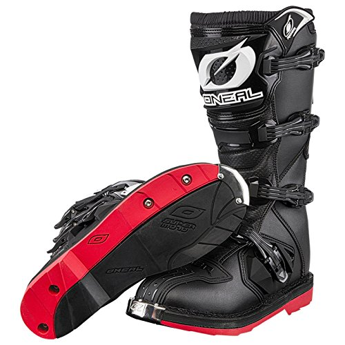 O'Neal Rider Boot EU Supermoto MX Cross Stiefel Motorrad Enduro Moto Cross Offroad, 0329-4, Größe 48 - 4