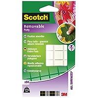 Scotch Fix014 Çıkarılabilir Yapışkan Kareler