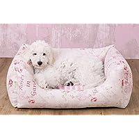 Knuffelwuff 13084 Vintage Hundebett Emilia Shabby Chic - Größe 3XL, 155 x 105 cm