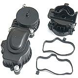 Conjunto de Respiradero Cárter Filtro de Aceite Motor Diesel Para 3series BMW E46 E90 E60