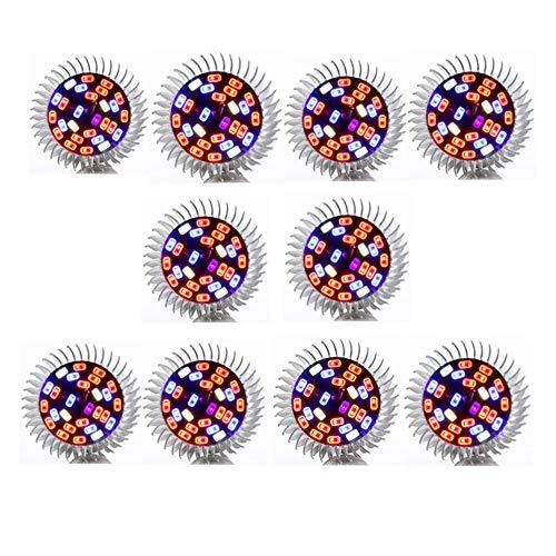 5W LED wachsen Glühbirne 28 LEDs Vollspektrum Blühwachstum Pflanzenwuchslampe E27 / E26...