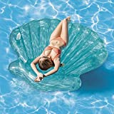Bavaria Home Style Collection Muschel - Pool-Insel - Insel Badeinsel - Material: PVC, der coole Badespass im Pool oder am See der ultimative Badespaß
