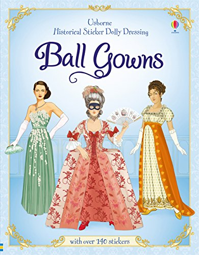 Kleid Dolly Kostüm - Historical Sticker Dolly Dressing: Ball Gowns