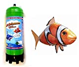 Zeus Party Air Swimmers Pesce Pagliaccio RADIOCOMANDATO + BOMBOLA Gas Elio per GONFIAGGIO