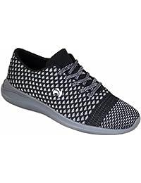 Ladies Henselite HL72 Ultra-Lightweight Lawn Bowling Shoes Grey