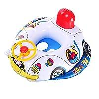 382c17d3c  Child Kids Inflatable Swimming Rings Seat Float Boat Wheel Horn Baby Pool  Swim Ring
