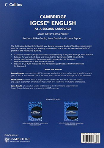 Cambridge IGCSE™ English as a Second Language Workbook (Collins Cambridge IGCSE™) (Collins Cambridge IGCSE (TM))