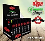 Siso 1 Minute Magic Hair Color (15ml Pack of 10)