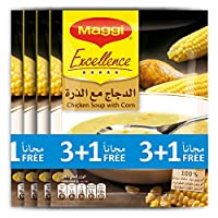 Maggi Chicken Corn Soup, 47 gm - Pack of 4