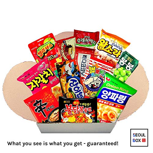 Seoul Box Classic | Premium, Authentic and Hand-Picked Korean Snacks, Noodles and Candies -