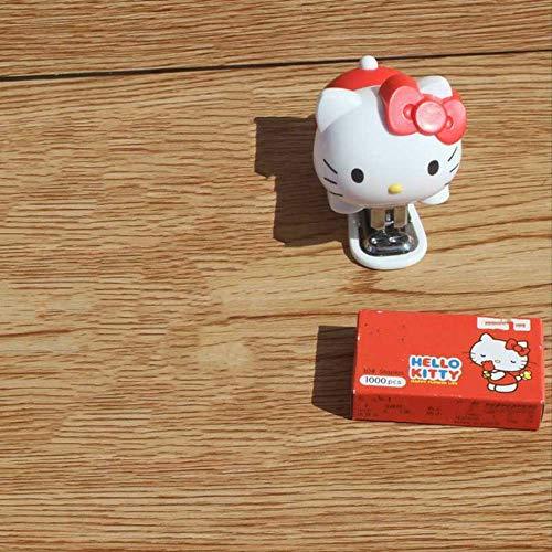SQWK1pcs Kitty Papelería infantil Mini grapadora