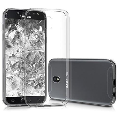 kwmobile Hülle für Samsung Galaxy J5 (2017) DUOS - TPU Silikon Backcover Case Handy Schutzhülle - Cover klar (Duo Handys)