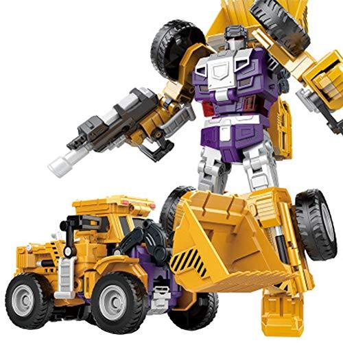 Transformations-Roboter-Kombinations-LKW-Transformatoren-Spielzeug-kreativer Kombinations-Roboter-Trans-LKW wandeln Auto-Roboter-Technik-Auto um (Spielzeug-auto-transformator)