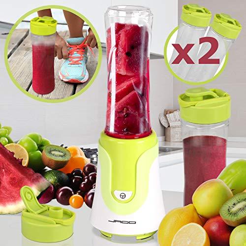 Jago - Licuadora / Batidora de vaso para smoothie - 300 W - aprox. 570 ml - color a elegir