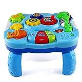 iBaste_top Baby Lerntisch Spielzeug Musical Lerntisch Wasser Kreaturen Musik Aktivität Center Spieltisch Kleinkinder Infant Kinder Spielzeug Für 1 2 3 Jahre Alte Jungen & Mädchen
