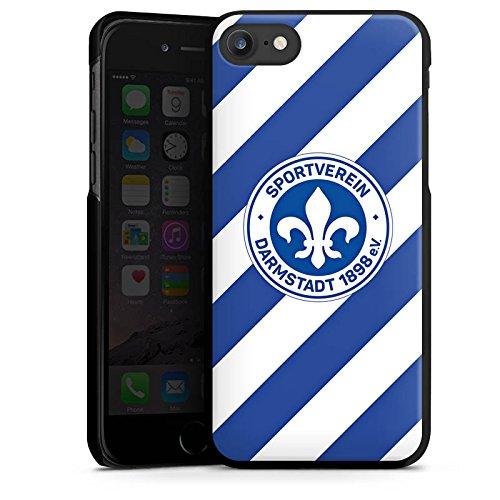 Apple iPhone X Silikon Hülle Case Schutzhülle Bundesliga Fußball Darmstadt98 Hard Case schwarz