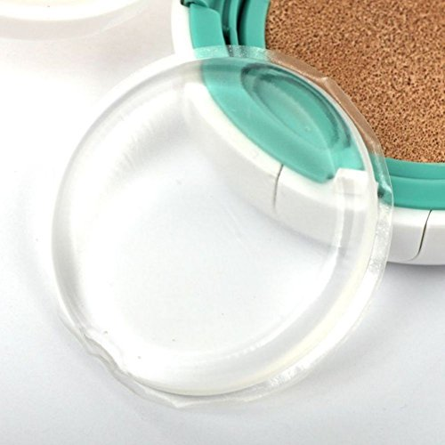Kayi Coque en silicone Jelly Maquillage Beauty Blender Éponge Puff Poudre goutte d'eau transparente