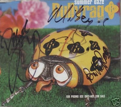 BULLYRAG- CD Promo-Summer daze (signed on inlay sleeve)