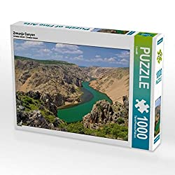 Zrmanja Canyon 1000 Teile Puzzle quer