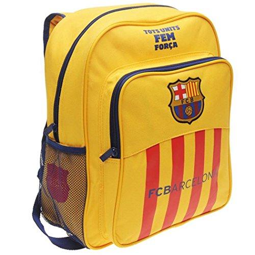 Barcelona fc - zaino con chiusura zip della squadra di calcio della liga spagnola