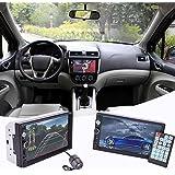 "Cewaal Coche Bluetooth MP5 Player, 7 ""2Din Car Bluetooth estéreo FM Radio MP5 AV Player con cámara retrovisora"