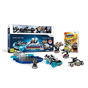 Skylanders SuperChargers Racing: Starter Pack – Dark Edition – [Wii]