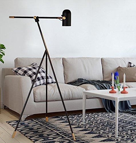 Camera da letto lampada da terra Soggiorno moderno Lampada da terra ...
