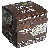 Löslicher Kaffee Kolumbien, Bio & Fairtrade, gefriergetrocknet, Schachtel mit 25 Portionsbeuteln