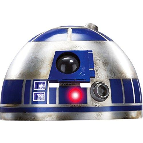 NET TOYS R2-D2 Maske Star Wars Pappmaske Roboter Maske Filmmaske (R2d2 Kostüm Erwachsene)