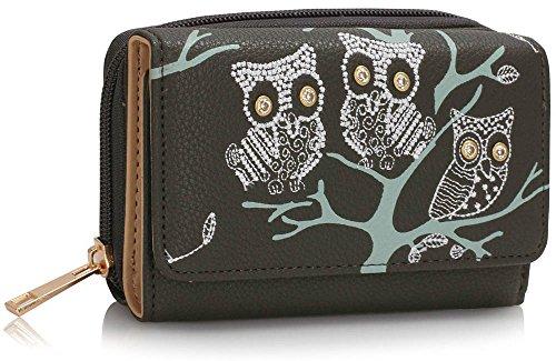 Trendstar Frauen Brieftaschen Damen Geldbörsen Kleine Hoch Qualität Mädchen Kartenhalter Neue C - Grau