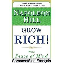 Résumé et analyse FR : Grow Rich! With Peace of Mind: Livre Grow Rich! With Peace of Mind Commenté (Les Éditions Instantanées t. 2)