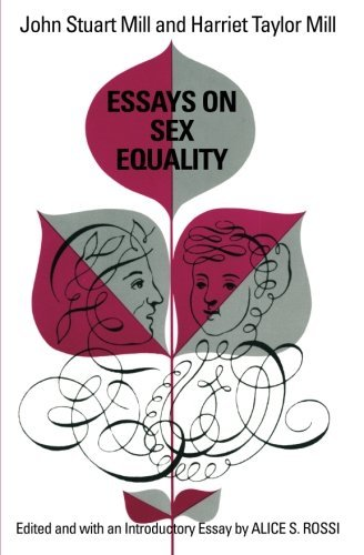 Essays on Sex Equality by John Stuart Mill (1970-12-09)