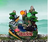 Wurzel Xin Kunsthandwerk Klein Wasser Geld Glück Harze Felsen Wasser Feng Shui Rad Teiche Brunnen Verzierungen
