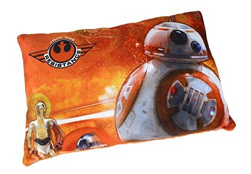 Simba 6315871969BB8 - Star Wars Plüsch Kissen BB8, 40 x 26 cm