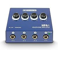 LD Systems LDHPA4 - Amplificador de sistema de audio y megafonía (4 canales)
