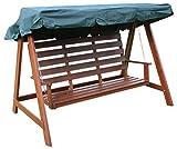 Woodside Ersatz-Sonnendach für Gartenschaukel - 3-Sitzer - Grün